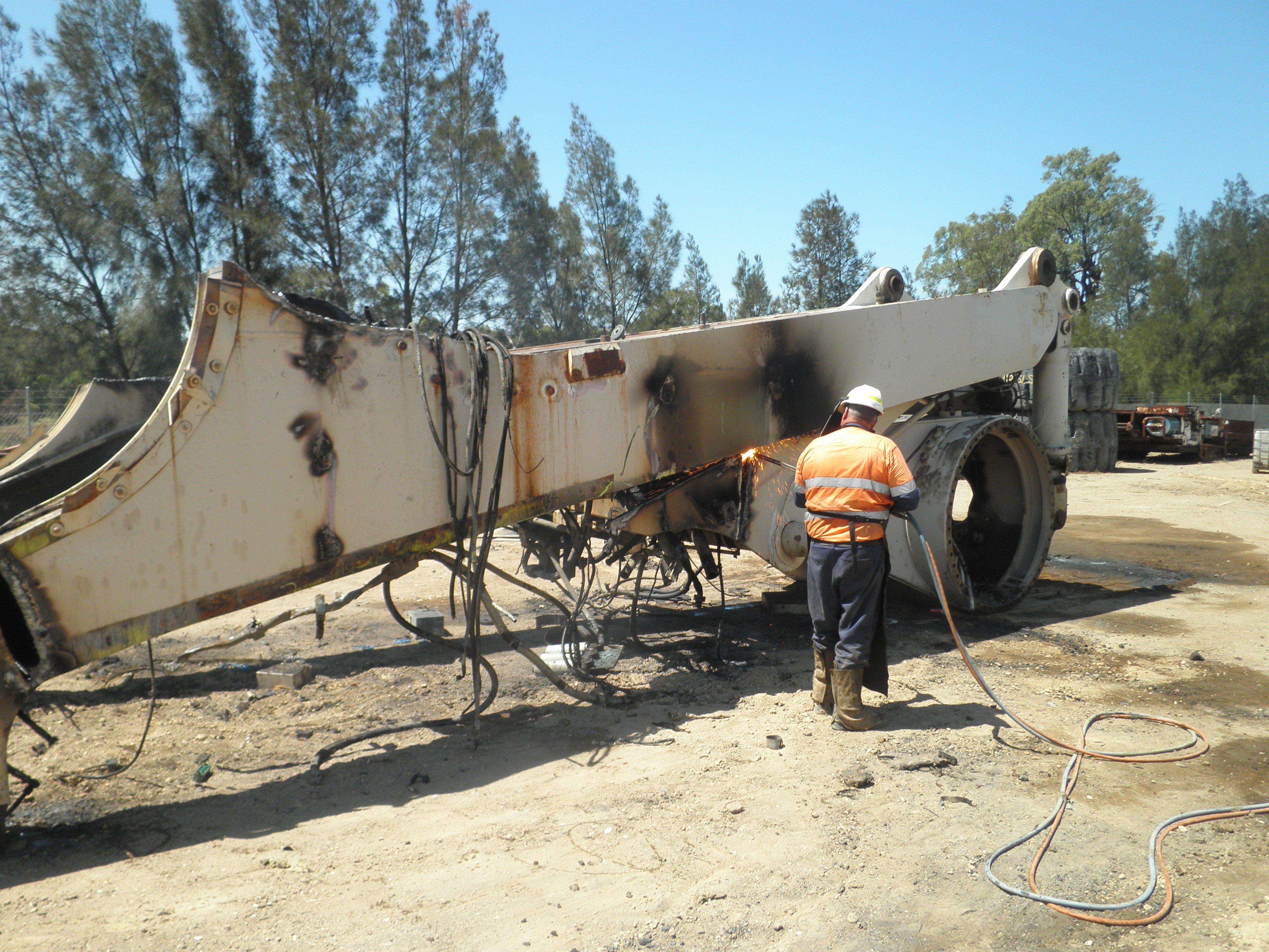 Machinery & plant dismantling