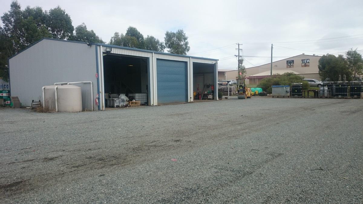 Weighbridge & scrap yard