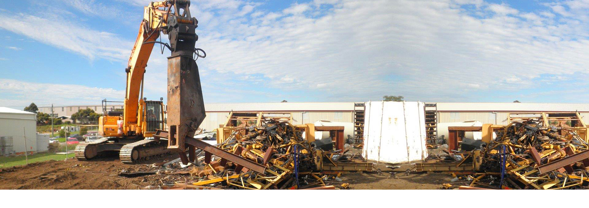 We have the equipment and experience to service all your scrap metal needs