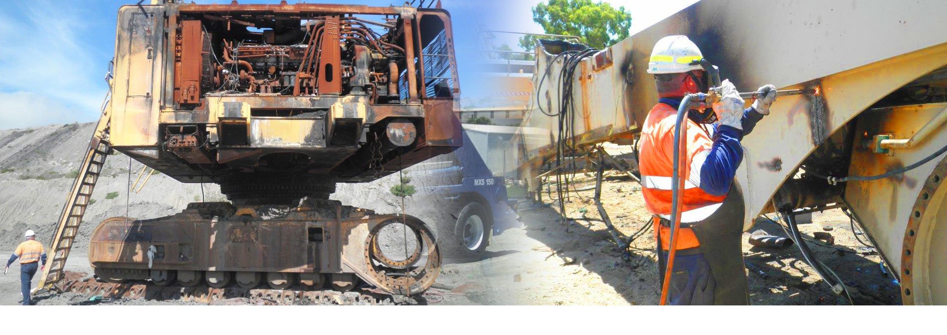 Safely removing and scraping redundant plant and machinery is our speciality